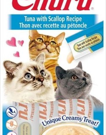 Inaba Churu Tuna & Scallops - 2oz