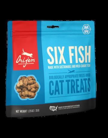 Orijen Feline Freeze-Dried Six Fish Treats