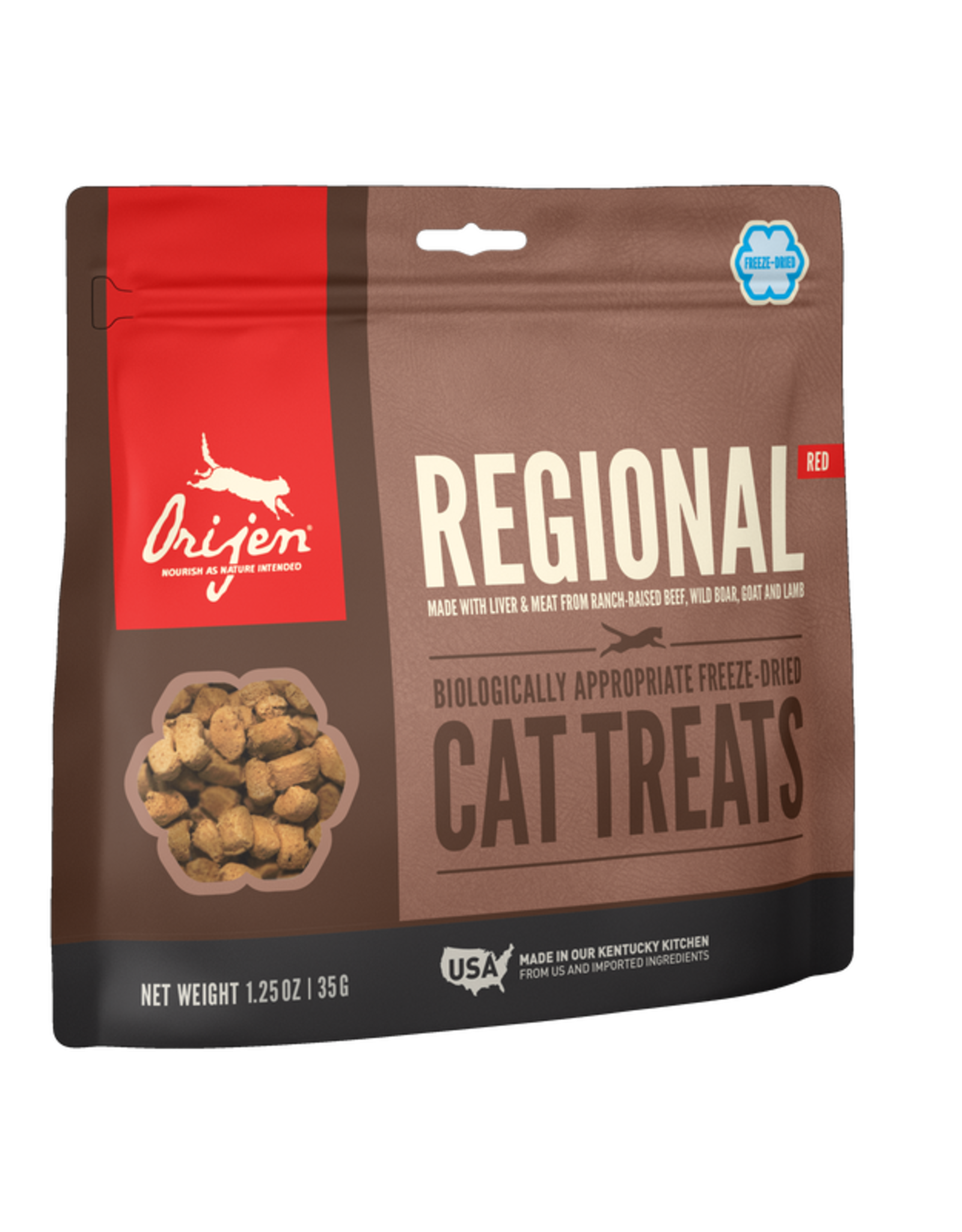 Orijen Cat Freeze-Dried Regional Red Treats - 1.25oz