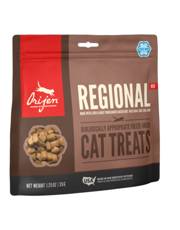Orijen Cat Freeze-Dried Regional Red Treats - 1.25oz