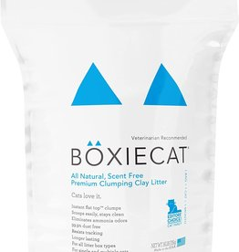 Boxie Cat Scent-free Premium Clumping Clay Cat Litter - 16lb