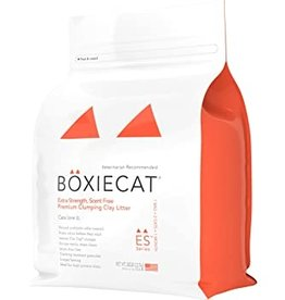 Boxie Cat Extra Strength Premium Clumping Clay Cat Litter - 28lb