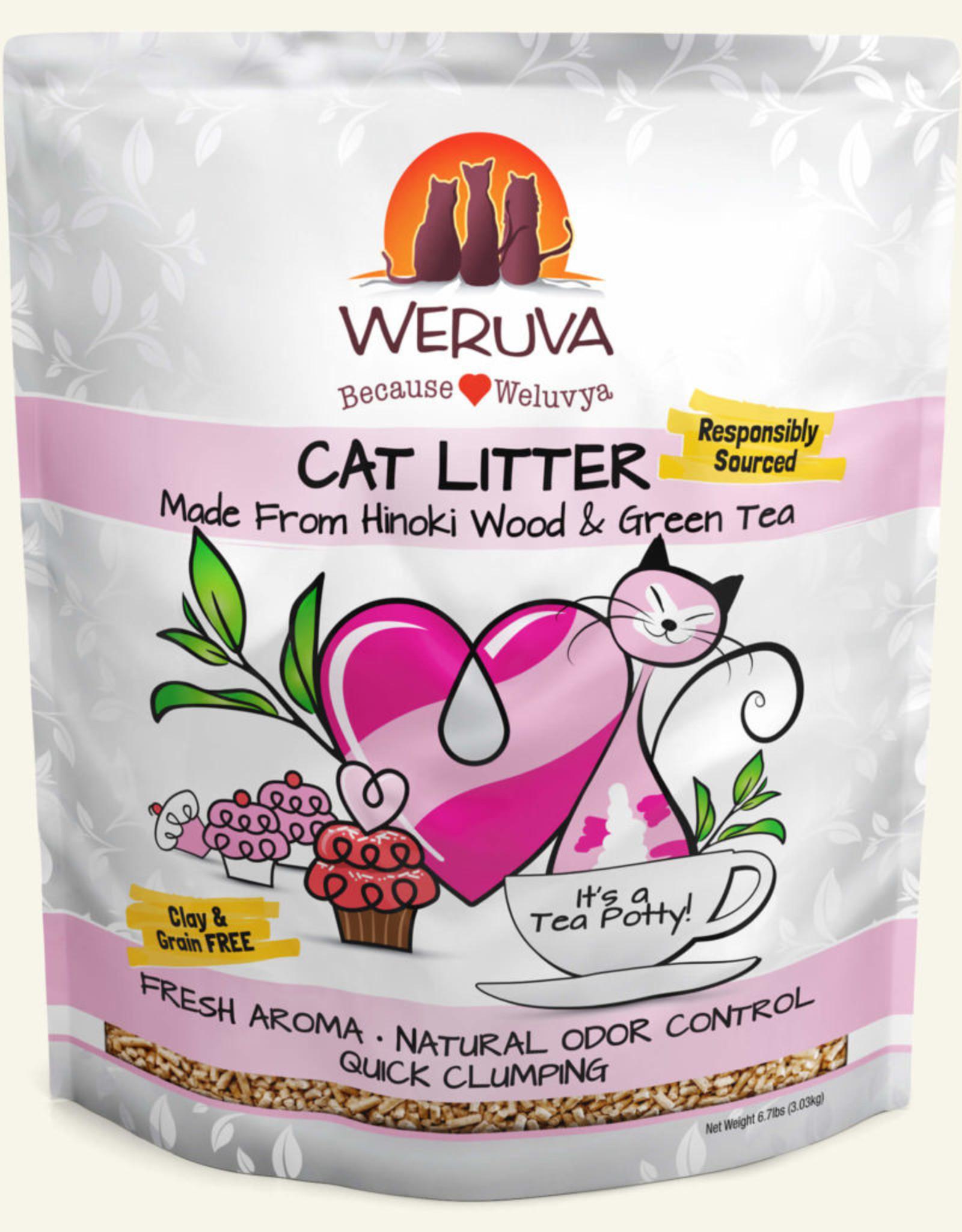 WERUVA It's A Tea Potty! Cat Litter - 11.7lb