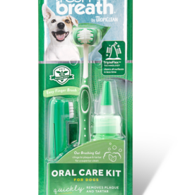 TropiClean Dental Care Kit - Large Breed