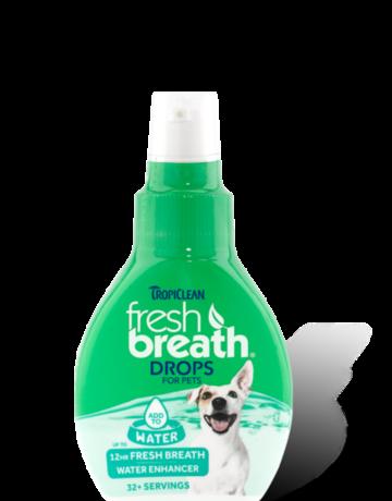 TropiClean Fresh Breath Water Drops - 2.2oz
