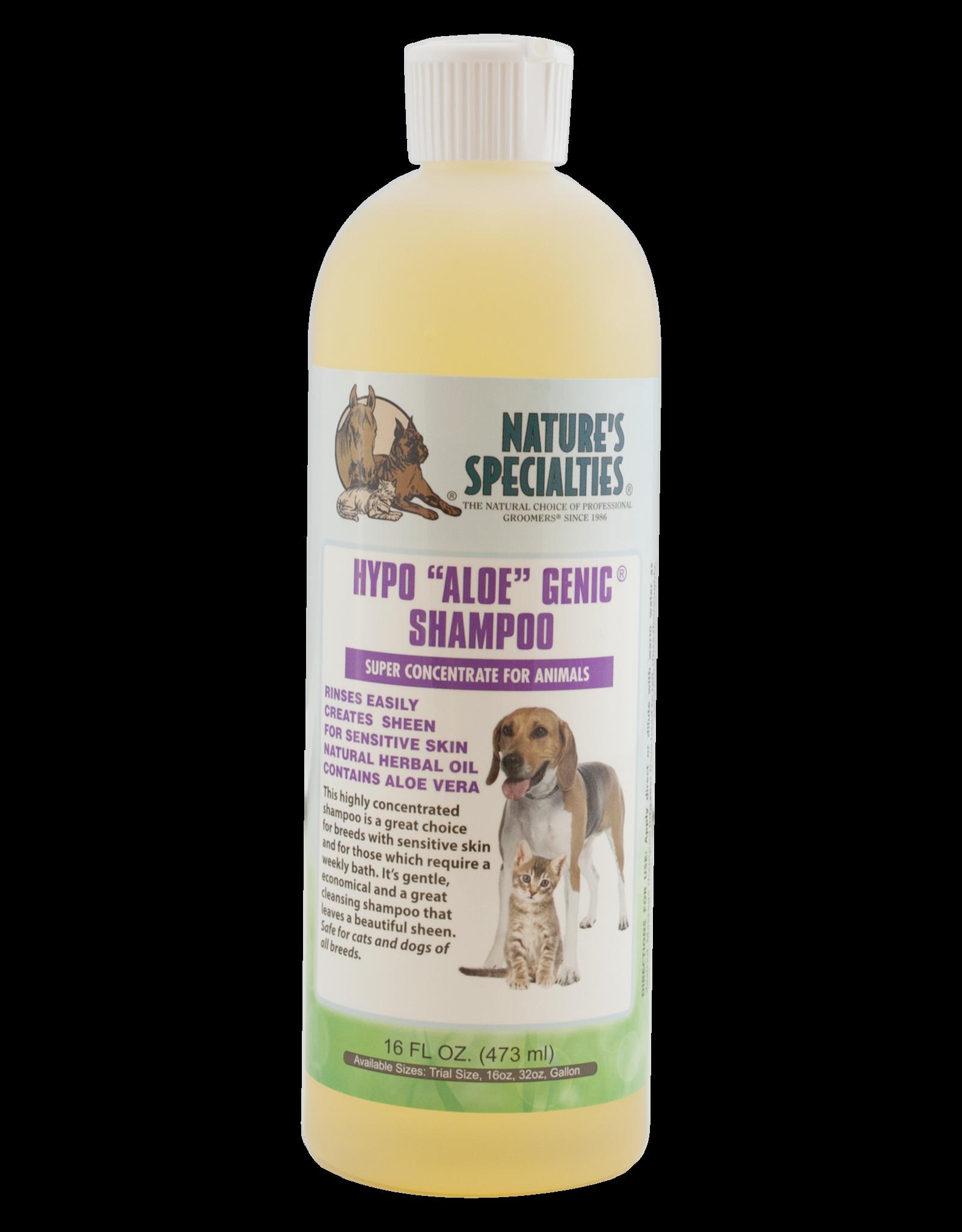 """Nature's Specialties Hypo """"Aloe"""" Genic Shampoo - 16oz"""