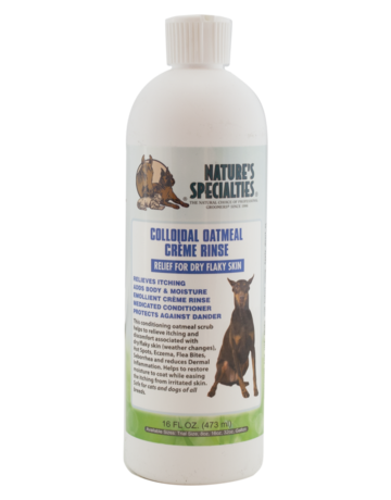 Nature's Specialties Colloidal Oatmeal Creme Rinse - 16oz