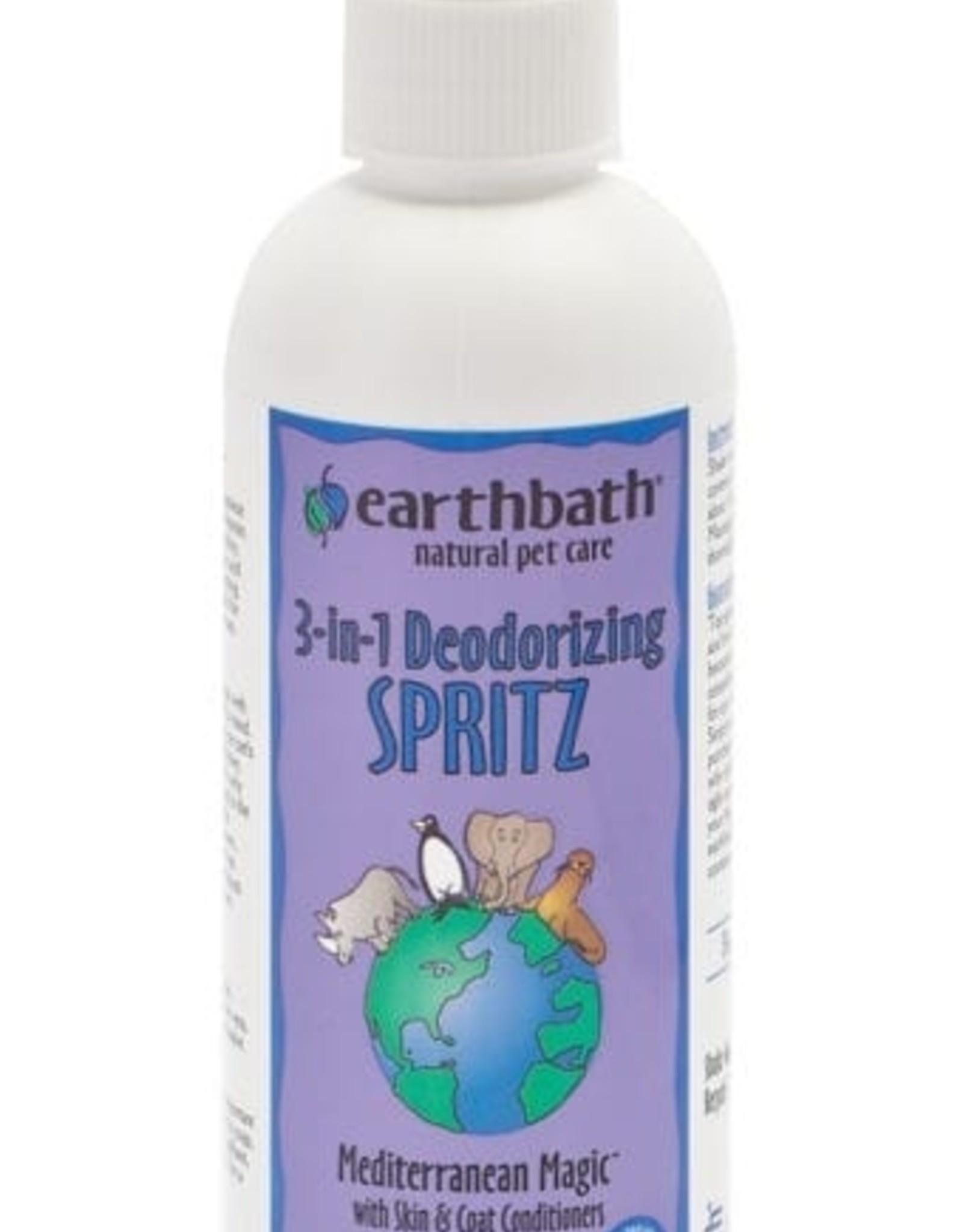 earthbath Mediterranean Magic Deodorizing Spritz - 8oz