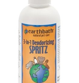 earthbath Vanilla & Almond Deodorizing Spritz - 8oz