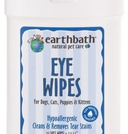 earthbath Eye Wipes - 25ct