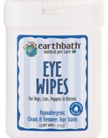 earthbath Eye Wipes - 25ct