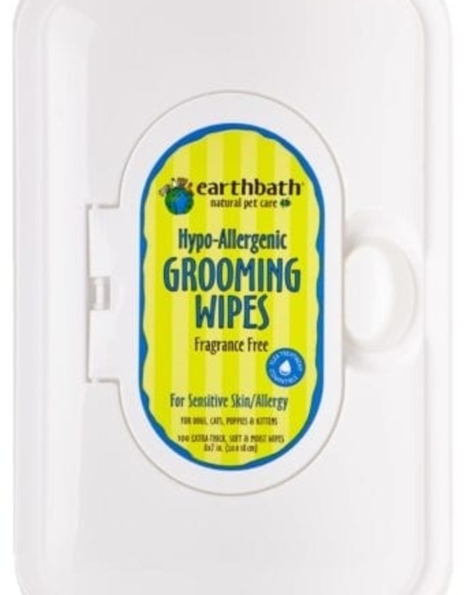 earthbath Hypo-Allergenic Wipes - 100ct