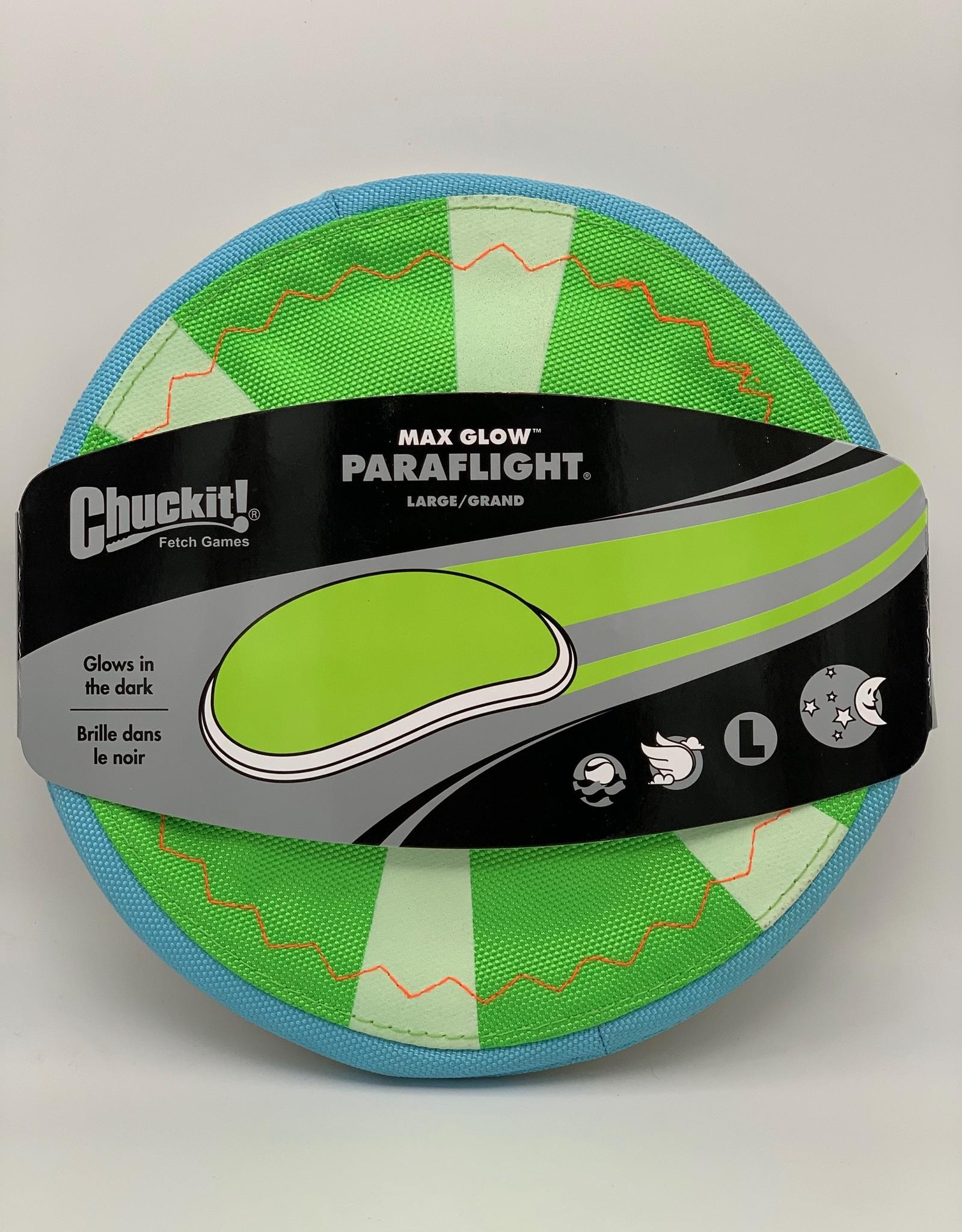 ChuckIt! Max Glow Paraflight - Large