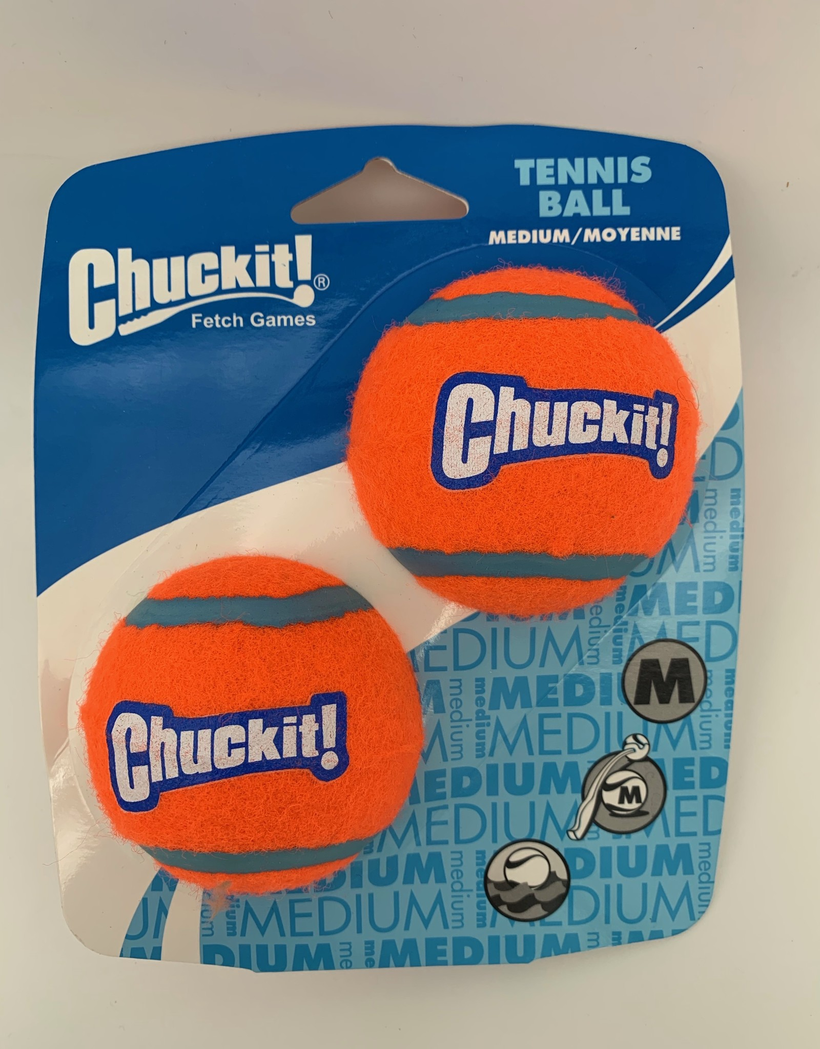ChuckIt! Tennis Balls - Medium (2 pack)