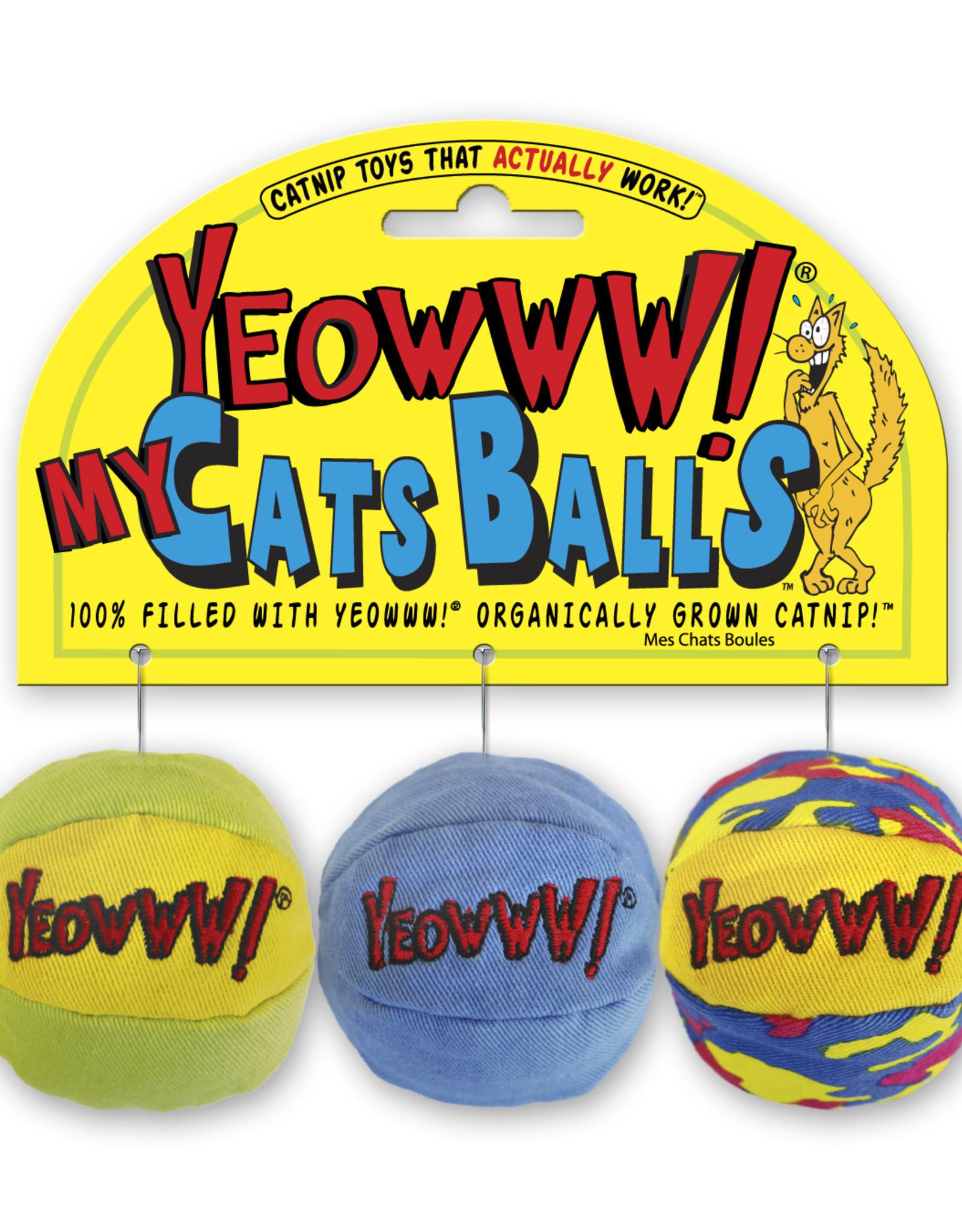 Yeowww! Catnip Cat Toys