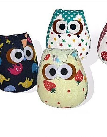 Nip Naps Owli (Assorted Colors)