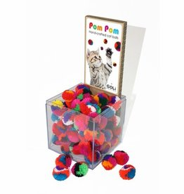 Pom Pom Ball (Assorted Colors)