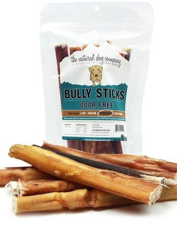 "The Natural Dog Company 6"" Bully Sticks - 8oz Bag"