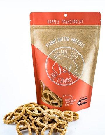 Winnie Lou - The Canine Company Peanut Butter Pretzels - 4oz