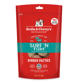 Stella & Chewy's Surf 'n Turf Freeze-Dried Raw Dinner