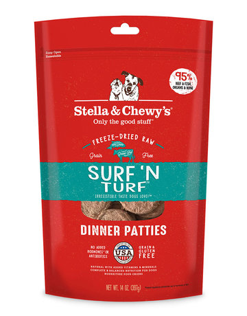 Stella & Chewy's Canine Surf 'n Turf Freeze-Dried Raw Dinner