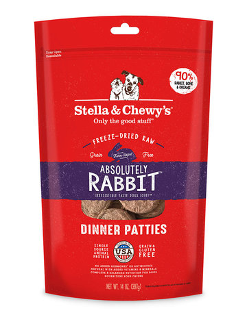 Stella & Chewy's Canine Absolutely Rabbit Freeze-Dried Raw Dinner