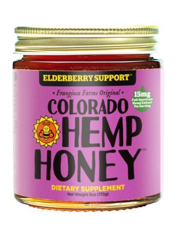 Colorado Hemp Honey Elderberry Support