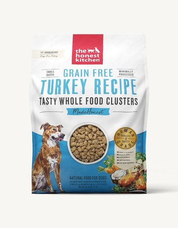 The Honest Kitchen Canine Grain-Free Turkey Clusters