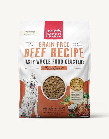 The Honest Kitchen Canine Grain-Free Beef Clusters