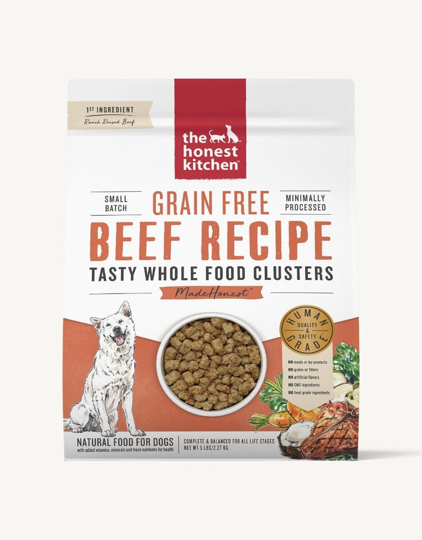 The Honest Kitchen Grain-Free Beef Clusters