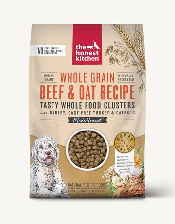 The Honest Kitchen Canine Whole Grain Beef & Turkey Clusters