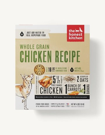 The Honest Kitchen Canine Whole Grain Dehydrated Chicken