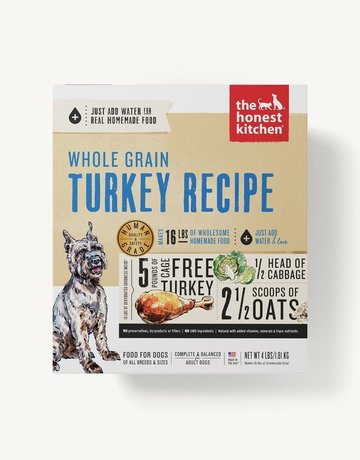 The Honest Kitchen Canine Whole Grain Dehydrated Turkey