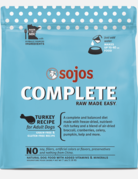 Sojos Pet Food Canine Grain-Free Freeze-Dried Turkey Recipe