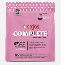 Sojos Pet Food Grain-Free Freeze-Dried Lamb Recipe