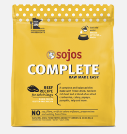Sojos Pet Food Grain-Free Freeze-Dried Beef Recipe