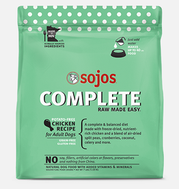Sojos Pet Food Grain-Free Freeze-Dried Chicken Recipe
