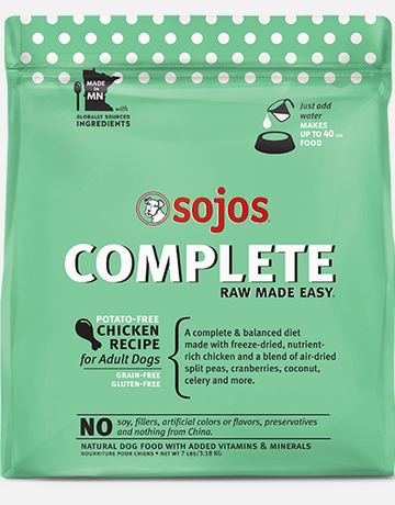 Sojos Pet Food Canine Grain-Free Freeze-Dried Chicken Recipe