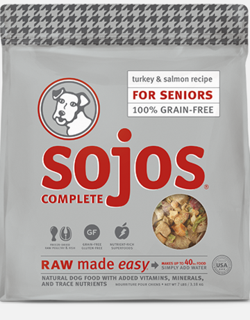 Sojos Pet Food Canine Grain-Free Freeze-Dried Senior Recipe
