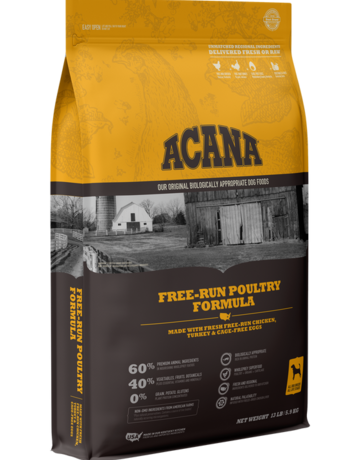 Acana Canine Grain-Free Free-Run Poultry Recipe