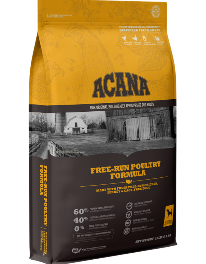Acana Canine Grain-Free Free-Run Poultry Recipe