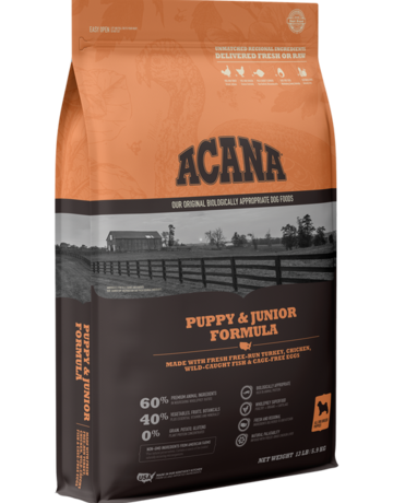 Acana Canine Grain-Free Puppy & Junior Recipe