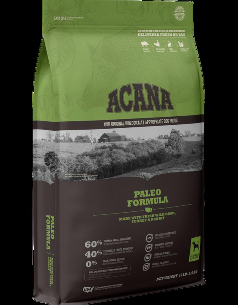 Acana Canine Grain-Free Paleo Recipe