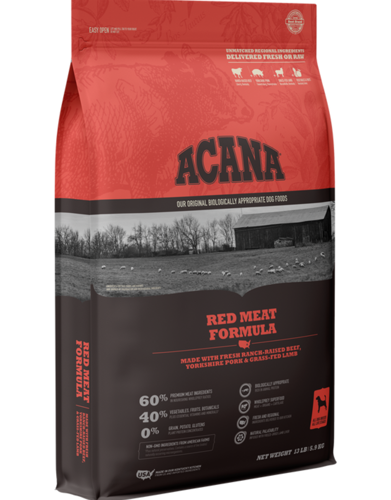 Acana Canine Grain-Free Red Meat Recipe