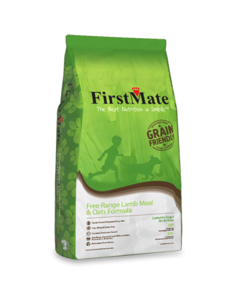 FirstMate Pet Food Canine Free Range Lamb & Oats Recipe