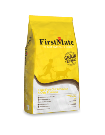 FirstMate Pet Food Canine Cage Free Chicken Meal & Oats Recipe