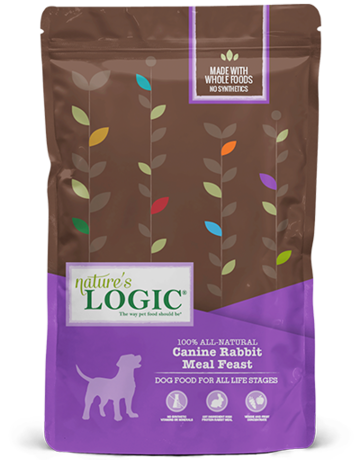 Natures Logic Canine Whole Grain Rabbit Feast