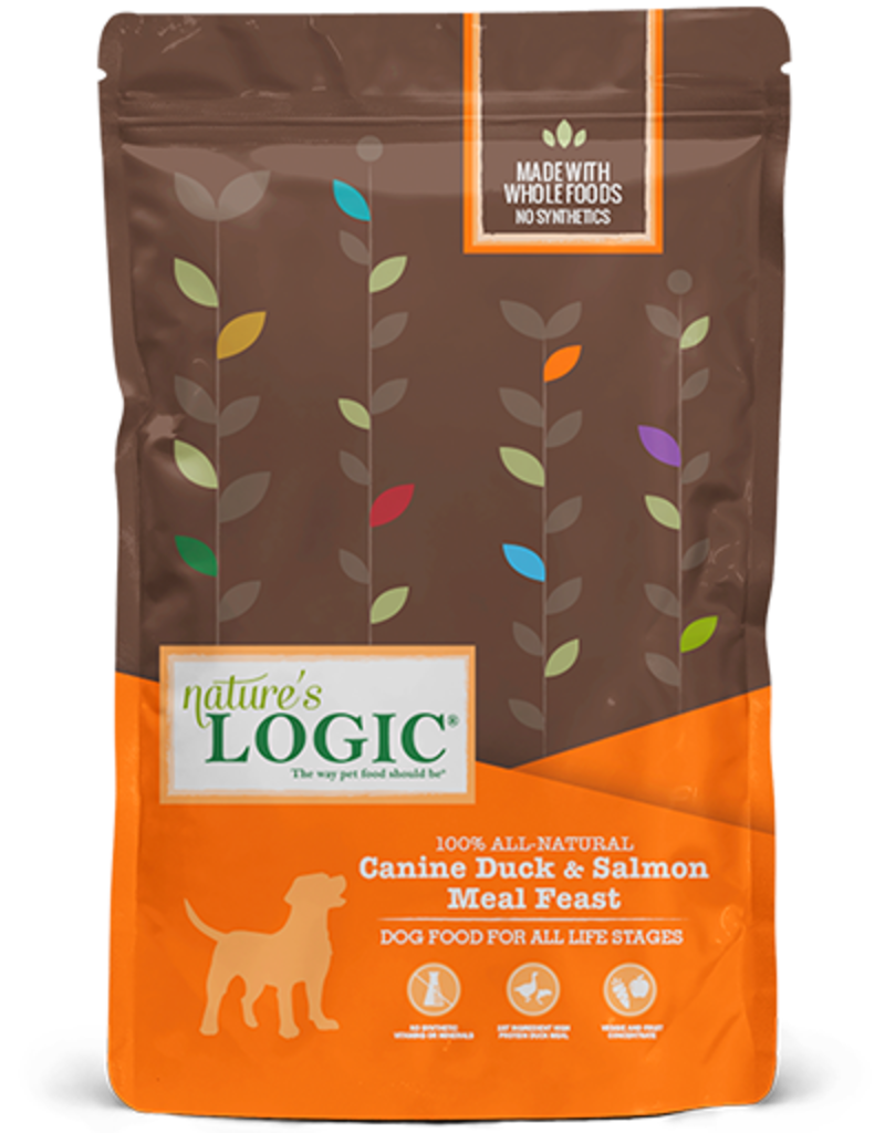 Natures Logic Canine Whole Grain Duck & Salmon Feast
