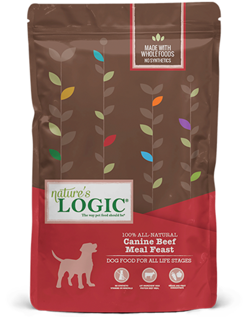 Natures Logic Canine Whole Grain Beef Feast