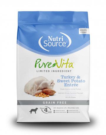 PureVita Canine Grain-Free Turkey & Sweet Potato Entree